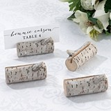 Lillian Rose Birch-Tree-Branch-Look Place Card Holders (Set of 4)