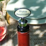 "Lillian Rose ""Happy Anniversary"" Wine Bottle Stopper"