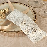 Lillian Rose Vintage-Inspired Ivory Lace Favor Bags (Set of 6)