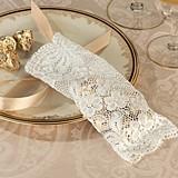 Lillian Rose Vintage-Inspired Ivory Lace Favor Bags (Set of 6)