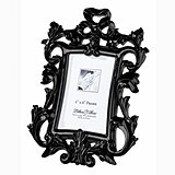 Lillian Rose Baroque-Style Black Scroll Frame/Place Card Holder