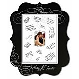 Always and Forever Chalkboard Signing Frame by Lillian Rose