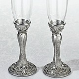 Lillian Rose Regal Elegance Jeweled Toasting Glasses (Set of 2)
