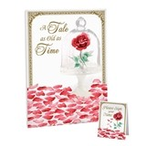 Lillian Rose Fairy Tale Rose Petal Motif Signing Canvas