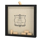 Lillian Rose Vineyard Design Shadow Box Frame for Signing Corks