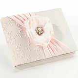 Blush Pink Guest Book by Lillian Rose