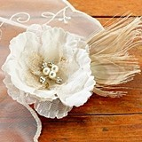 Lillian Rose Delightful Burlap Hair Clip/Decoration