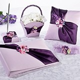 Lillian Rose Radiant Purple Wedding Accessories Collection