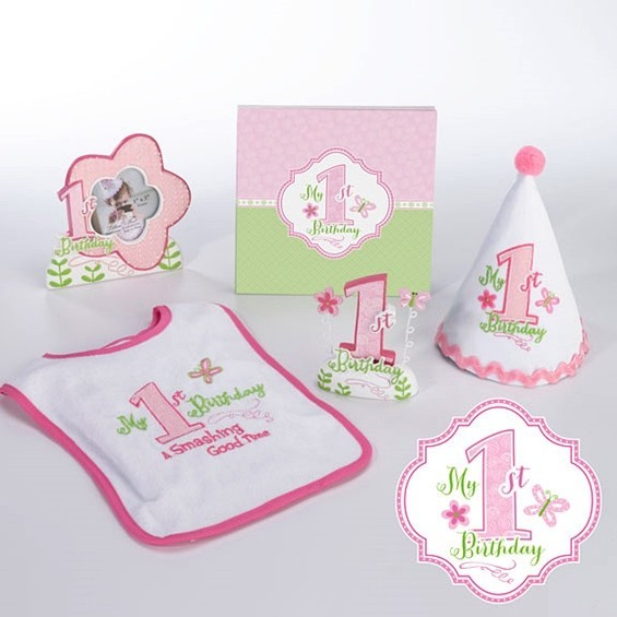 Lillian Rose Little Girls First Birthday Party Pink Collection