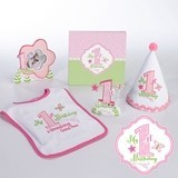 Lillian Rose Little Girl's First Birthday Party Pink Collection