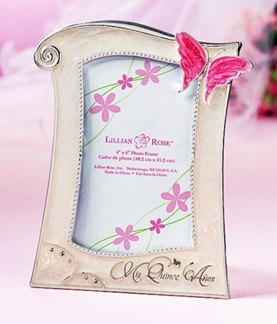 Quinceañera Picture Frame by Lillian Rose