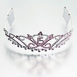 Mis Quince Años Pink Tiara by Lillian Rose