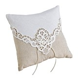 Country Lace Collection Ring Pillow by Lillian Rose