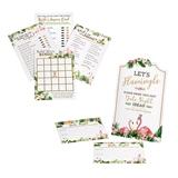 Lillian Rose Flamingo Theme Bridal Shower Game Set & Date Night Cards