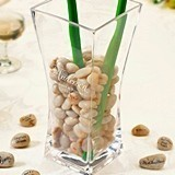 Lillian Rose Personalized Vase and Guest Signing Stones Set