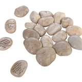 Lillian Rose Large Natural Signing Stones (Package of 15-20 Stones)