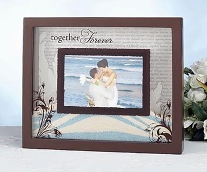 """Lillian Rose """"Together Forever"""" Unity Sand Frame"""