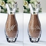 Personalized Small Side Vase for Together Forever Unity Sand Set