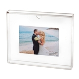 Lillian Rose Clear Acrylic Unity Sand Ceremony Photo Frame