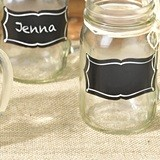 Lillian Rose Chalkboard Glass Clings (Set of 20)