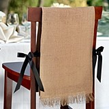 Lillian Rose Blank Burlap Chair Covers (Set of 2)