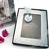 Capture Elegance Photo Frame with Brilliant Hammer Finish in Gift Box