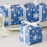 Artisano Designs 'Winter Wishes' Snowflake Favor Boxes (24 Pack)