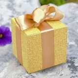 Artisano Designs 'All that Glitters' Gold Favor Boxes (Set of 24)