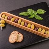 Artisano Designs 'Tastings' Olive and Appetizer Serving Boat Canoe