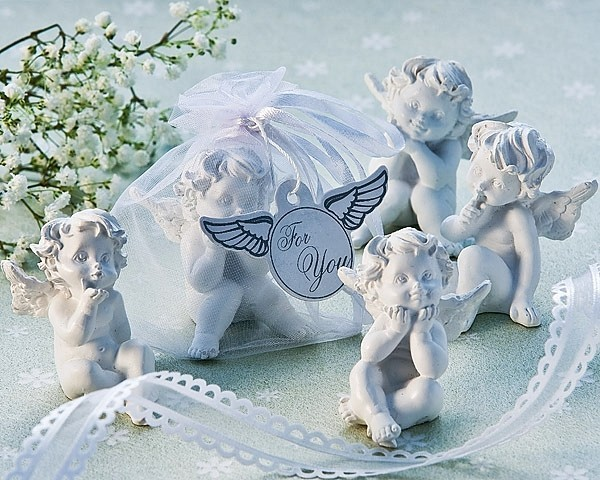 Artisano Designs Little Angel Cherub Figurine Favors (Set of 4)