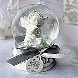 Artisano Designs Angel Kisses Cherub Snow Globe Favor