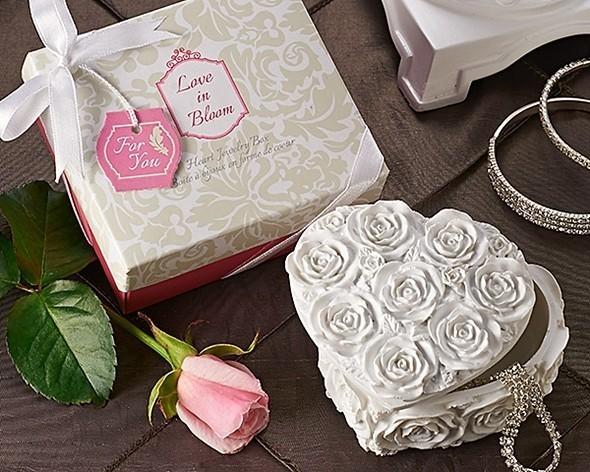 Artisano Designs Love in Bloom Heart Jewelry and Trinket Box