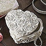 Artisano Designs Love in Bloom Heart Jewelry and Trinket Box