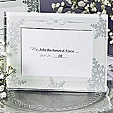 Shimmering Crystals Mini Photo Frame/Place Card Holder (Pack of 4)