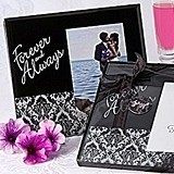 Artisano Designs Forever and Always Damask Photo Frame Favor