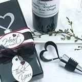 Artisano Designs Brilliant Heart Bottle Stopper in Designer Gift Box