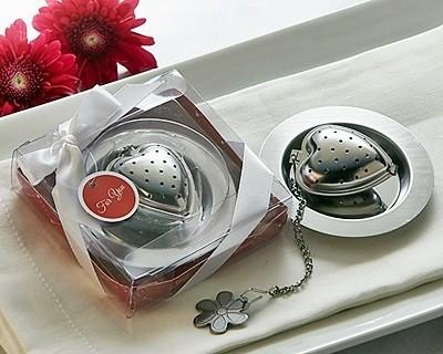"Artisano Designs ""Love is Brewing"" Heart-Shaped Tea Infuser"