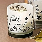 Artisano Designs Fall in Love Tea Light Candle Holder (Pack of 4)
