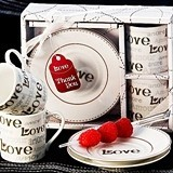 Language of Love Espresso Cup Favor Set (Pack of 2 Sets)