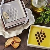 Vineyard Select Olive Oil and Balsamic Vinegar Dipping Plate