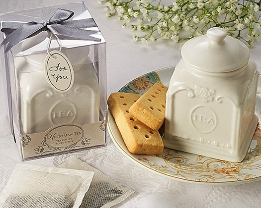 Artisano designs beautiful victorian style porcelain tea for Victorian tea party favors