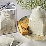 Artisano Designs Beautiful Victorian-Style Porcelain Tea Caddy