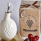 """Taste of the Vineyard"" Vinegar Bottle in Gift Box"