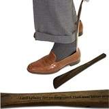 Personalized Wood Shoe Horn with Engraved Message