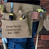Personalized Engraved Suede Leather Complete Tool Belt