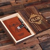 Personalized Medical School 'Vetruvian Man' Design Notebook with Pen