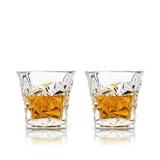 Prism Lead-Free Crystal Whiskey Tumblers by VISKI (Set of 2)