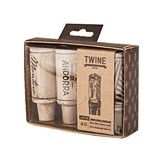 Grapevine: Wine Cork-Shaped Candles by Twine® (Set of 4)