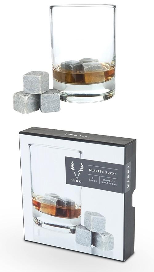 Glacier Rocks: Set of 6 Soapstone Cubes by VISKI