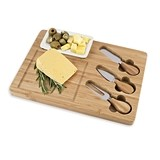 Mesa™ Bamboo-Wood Appetizer Serving Set by True